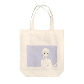 【カナ】ぱーぷるへいず Tote bags
