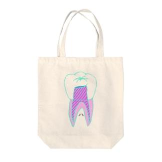 ココツライ【歯】 Tote bags
