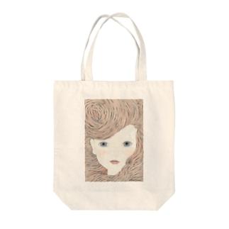 橋本京子のポーカーフェイス Tote bags
