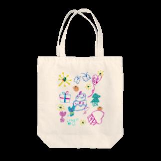 橋本京子のおおきなケーキのおまつり(Karin) Tote bags