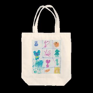 橋本京子のクリスマスのうた(改)(Karin) Tote bags