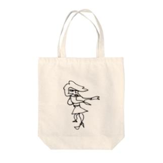 メインストリート Tote bags