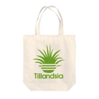 ティランジアイオナンタ(3本線) Tote bags
