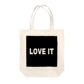 LOVE  IT Tote bags