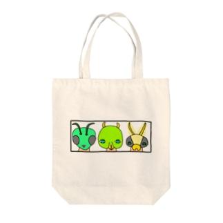 虫研究家さん Tote bags