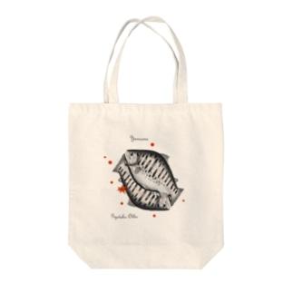 ヤマメ!(山女魚)japan Tote bags