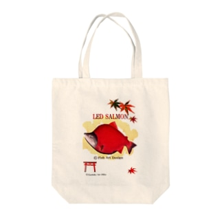 紅鮭!(ベニザケ;RED SALMON) Tote bags