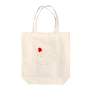 ちきんかあさん Tote bags