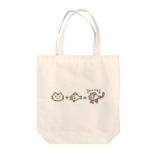 にゃん定式 Tote bags