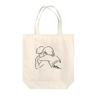 がーるみーつぼーい Tote bags