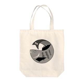 クロダイくん Tote bags