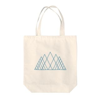 Ice Mountain Tote bags