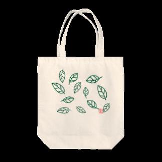 晴田書店のleaf〜葉〜 Tote bags