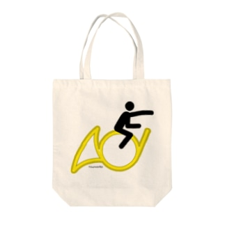 The Flying Hornist w/o Logo Tote bags