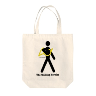 The Walking Hornist w/ Logo Tote bags