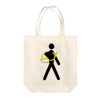The Walking Hornist w/o Logo Tote bags