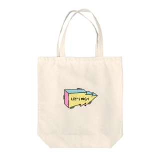 lets high Tote bags
