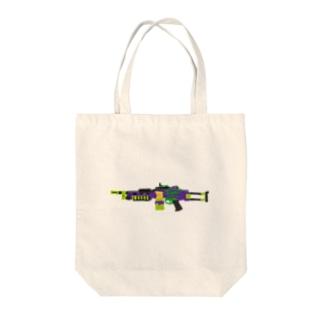 ミニミモンスター Tote bags