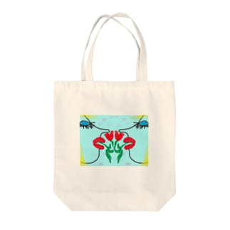Blue eyes women Tote bags