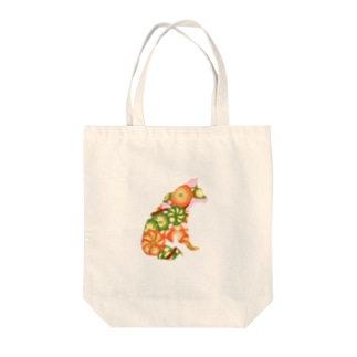 Fruit flower Tote bags