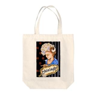 キラキラ Tote bags