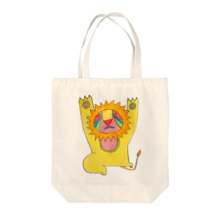 ZOO(LION) Tote bags