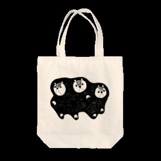 スズナリ/ Team.S&Y&U.のムササビ三兄弟 Tote bags