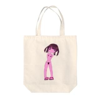 ビキニの女の子 Tote bags