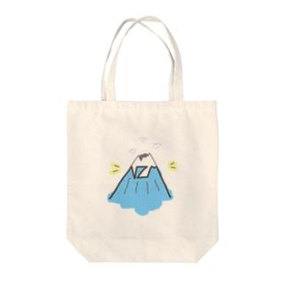 お山のNくんネーム Tote bags