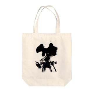 笑う書 #02 Tote bags