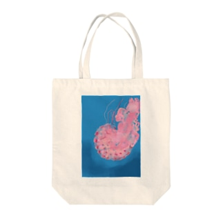 jelly jellyfish Tote bags