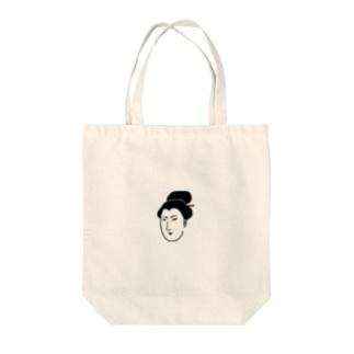 お宮ちゃん Tote bags