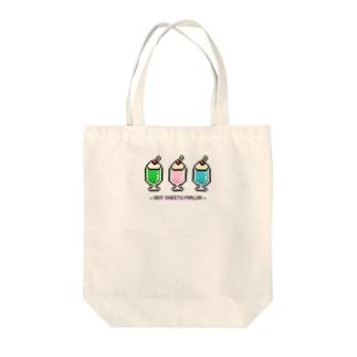 8bit♡クリームソーダ Tote bags