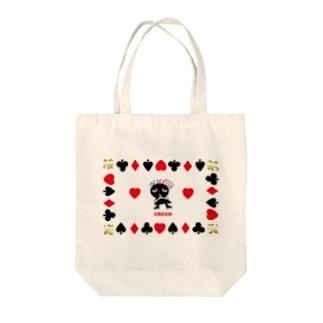 ハートを探し、恋占いのクレコちゃん Tote bags