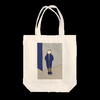 ミーゴレンちゃんのかっこつけ Tote bags