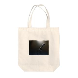 ボーカリスト ステージ マイク スポットライト Tote bags