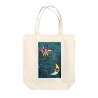 冬の星空 Tote bags