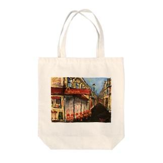 パリの街角Ⅱ Tote bags