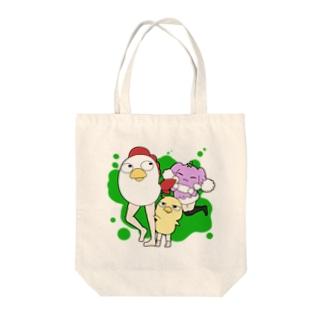生脚キチンと仲間たち Tote bags