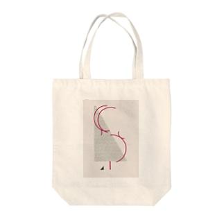 ピンヒールの女の子 Tote bags