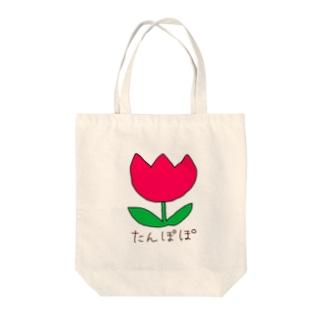 どう見てもタンポポ Tote bags