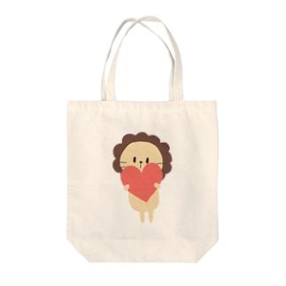 ライオンのプティ Tote bags