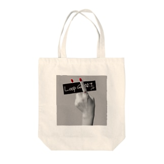 RED NAIL Tote bags