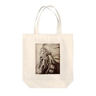 手描きインディアン Tote Bag
