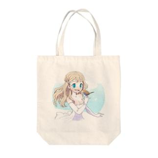 Little bird Tote bags