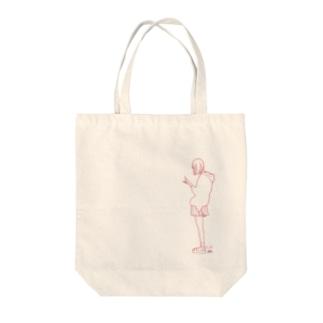 LIE Tote bags