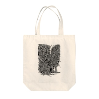 Thunder Fox / 雷狐 Tote bags
