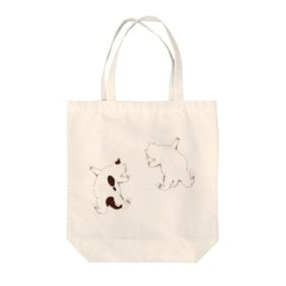 はりつく子猫 Tote bags