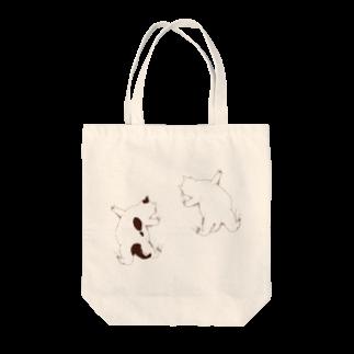 はりつく子猫 トートバッグ