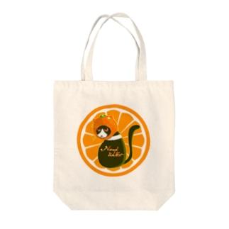 猫みかん Tote bags